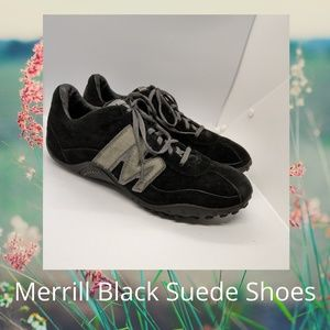 Merrell Black Suede Shoes Size 9.5
